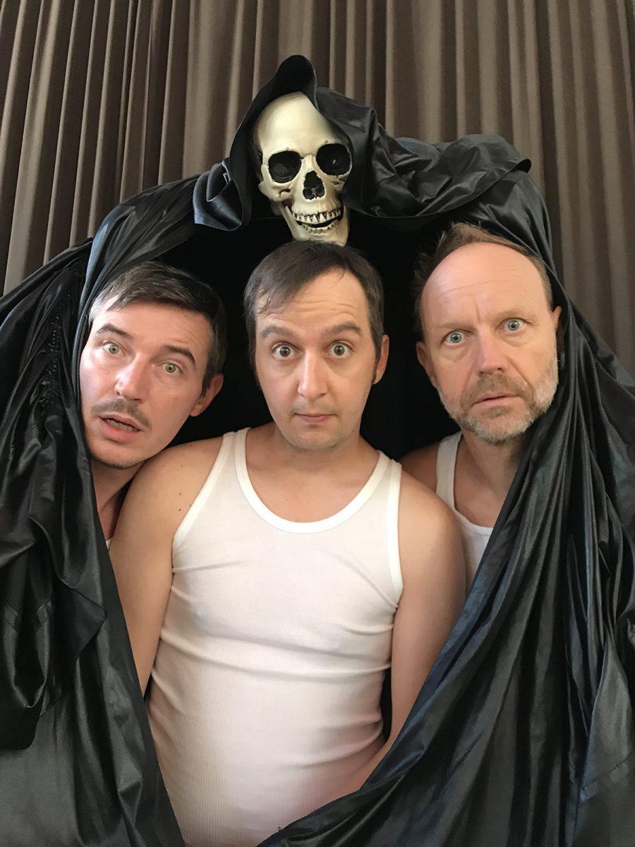 Das Feinripp Ensemble - drei Schauspieler in Unterhosen - Innsbruck, Tirol